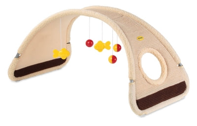 Cat Activity Play Gym - Brown