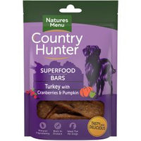Country Hunter Turkey with Cranberries & Pumpkin Dog Treats 100g