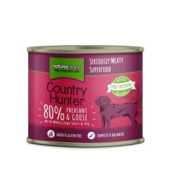 Country Hunter Pheasant & Goose Can 6 x 600g Dog Food