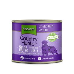 Country Hunter Farm Reared Turkey Can 6 x 600g Dog Food