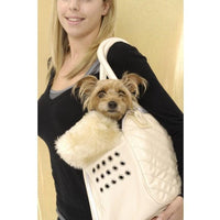 Pet Carrier Cream Couture by Puchi Petwear