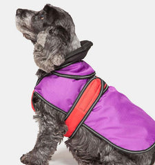 Danish Design Dog Coat 2 in 1 Purple