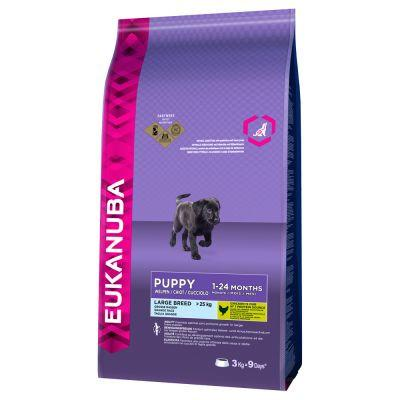Eukanuba Large Breed Puppy Food 3kg