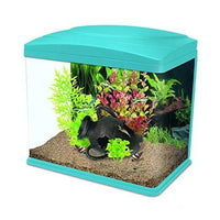 Fish Tank, Interpet Fishbox LED Aquarium 13 L - Blue