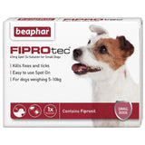 Small dog flea treatment beaphar fiprotec