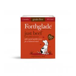 Forthglade Adult Just Beef Grain Free 18 x 395G Dog Food