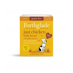 Forthglade Just Chicken with Heart Grain Free 18 x 395G Dog Food