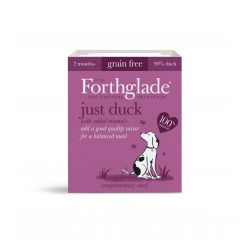 Forthglade Just Duck Grain Free 18 x 395G Dog Food