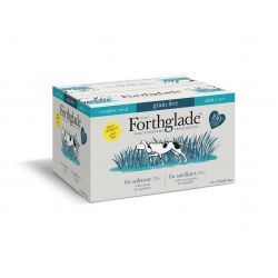 Forthglade Complete Grain Free Adult Multicase Fish 12 x 395G Wet Dog Food