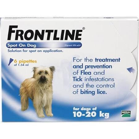 Frontline Spot On For Medium Dogs