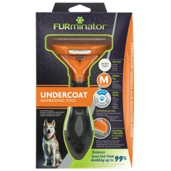 FURminator Undercoat DeShedding Medium Dog Short Hair