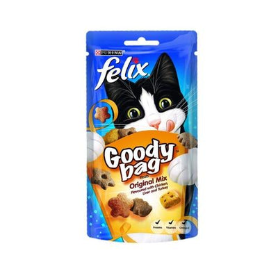 Cat Treat Felix Goody Bag 60g Pack of 8