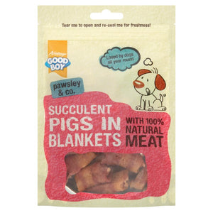 Good Boy Pawsley Pigs In Blankets Dog Treats - 80g