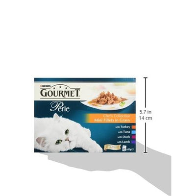Cat Food Purina Gourmet Chef's Collection 48 Pouches