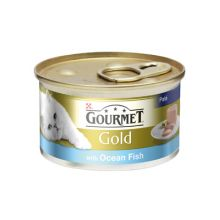 Purina Gourmet Gold Ocean Fish Cat Food 12 x 85g