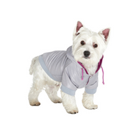 Grey Pathfinder Insulated Panel Dog Jacket