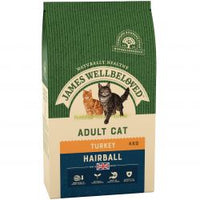 James Wellbeloved Cat Hairball Turkey & Rice