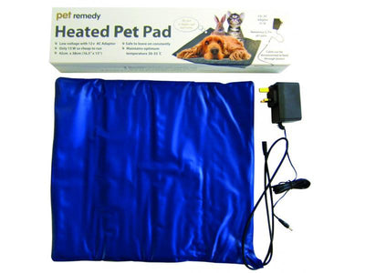 Heated Pet Pad Cats Dogs by Pet Remedy