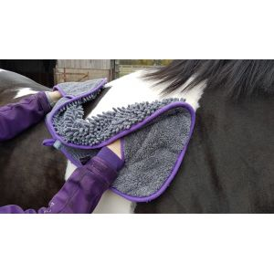 Henry Wag Equine Microfibre Noodle Glove Towel