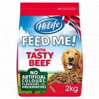 HiLife FEED ME! Beef with Cheese & Veg 2kg