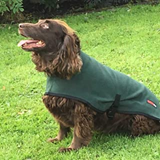 "Hotterdog Dog Coat Green Coat 26"" Sale"