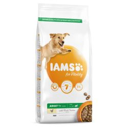 IAMS for Vitality Adult Large Dog Food with Fresh Chicken 12kg