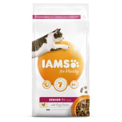 IAMS for Vitality Senior Cat Food with Fresh Chicken 800g