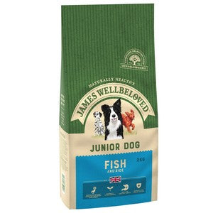 James Wellbeloved Junior Ocean Fish & Rice 2kg Dog Food