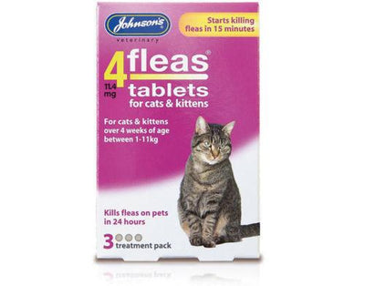 Johnsons 4fleas Kitten/Cat Tablets