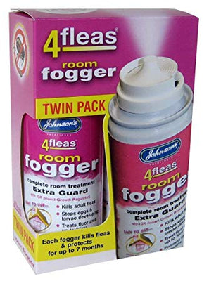 Johnson's 4fleas Room Fogger (Twin Pack) 100ml
