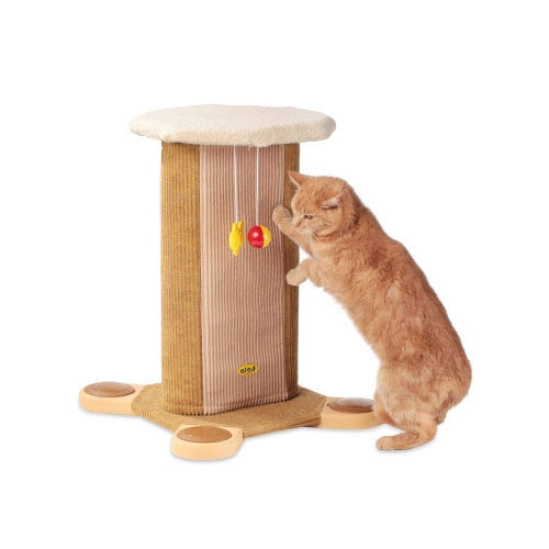 Kansas Cat Tower - Sand/Fawn