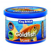 King British Goldfish Flake Food 55G
