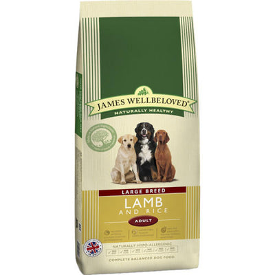 James Wellbeloved Adult Large Breed Lamb and Rice 15kg