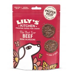 Lily's kitchen Dog Beef Mini Burgers, 70g Dog Treats