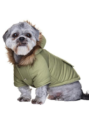 Mod Fishtail Parka Dog Coat