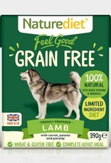 Naturediet Feel Good Grain Free Lamb Dog Food