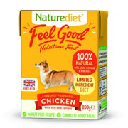 Naturediet Feel Good Chicken 8 x 200g Dog Food