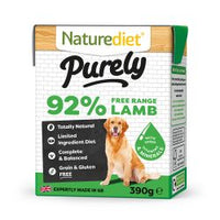 Naturediet Purely Lamb 18 x 390g Dog Food