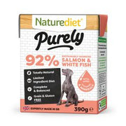 Naturediet Purely Salmon 18 x 390g Dog Food