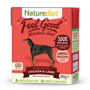 Naturediet Feel Good Chicken & lamb 18 x 390G Dog Food