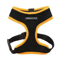Active Mesh Neon Orange Dog Harness