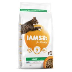IAMS for Vitality Adult Cat Food with Ocean Fish 2kg