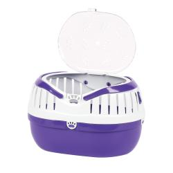 Happy Pet Small Animal Carrier Purple, 36cm