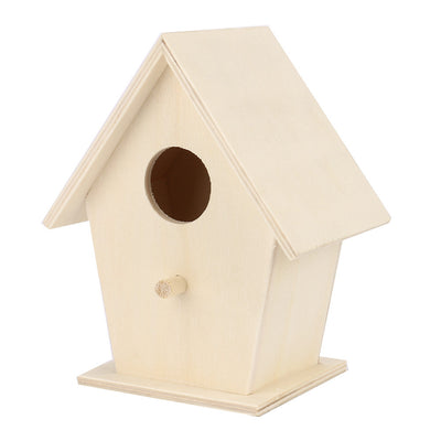 Bird Nest House Wooden Box