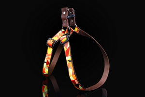 Autumn Winter & Gold Dog Harness