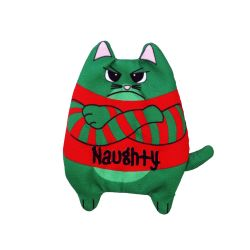 KONG Refillable Pursonality Naughty Cat Toy