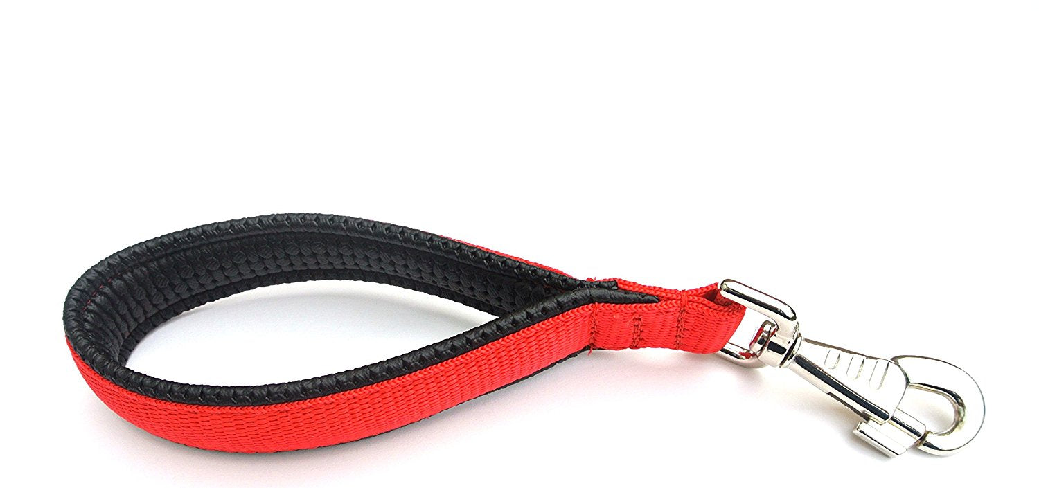 "10"" Short Close Control Dog Lead With Padded Handle"