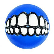 Rogz Grinz Ball Blue Medium Dog Toy