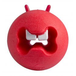 Rogz Fred Red Treat Ball Dog Toy