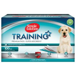 Simple Solution Puppy Training 100 Pads